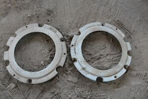 Weights For Rear Wheels David Brown Tractor 990 Others One Pair