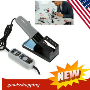 120w 938d 110v Portable Tweezer Soldering Iron Station Rework Welding