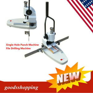 Manual Album paper tags Single Hole Punch Machine File Drilling Machine Qy t30