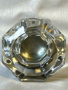 Antique Octagon Glass Door Knob Chunky Heavier Than Most
