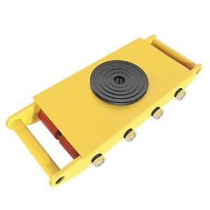 360 rotation Heavy Duty Industrial Machinery Mover Dolly Skate Roller 12t