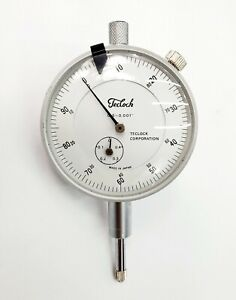 Teclock Dial Indicator 5 001 Inches Made In Japan Euc