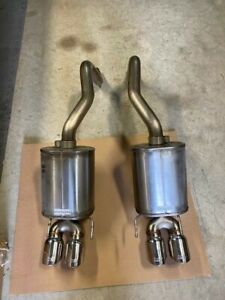 2009 2013 Chevrolet Corvette Corsa Axle back Quad Tip Exhaust