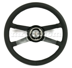 For Porsche 911 912 914 Stock Depth Leather Wrap Steering Wheel 1969 73 New