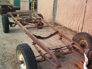 1926 1927 Chevrolet Car Frame 1928