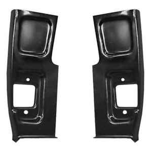 Front Lower Door Pillar 2nd Series For 55 59 Chevy Gmc Ck Pickup Truck Pair