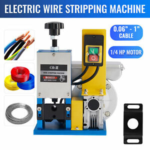 Wire Stripping Machine Automatic Scrap Cable Stripper Electric Copper Recycling