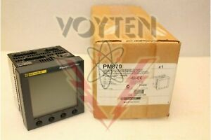 Pm870 Schneider Electric Powerlogic Power Meter 870 W Integrated Display