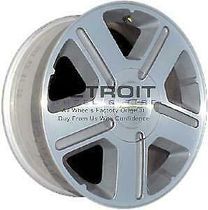 17 Chevrolet Trailblazer Wheel Rim Factory Oem 5179 2004 2009 Machined Grey