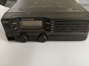 Kenwood Tk 630h Low Band Fm Transceiver will Program To Your Desired Frequency