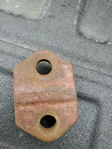 International Harvester 2 way Moldboard Plow Coulter Clamp 524492 r1
