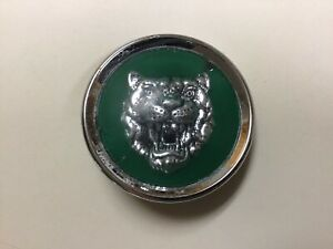 Jaguar Wheel Center Cap Green 1