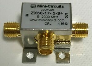 Mini circuits Zx30 17 5 s 50 5 To 2000 Mhz Directional Coupler