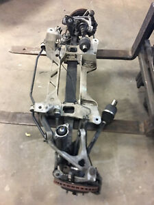 06 13 Corvette C6 Rear Subframe And Suspension Control Arms And Knuckles