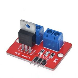 Mosfet Button Irf520 Mos Driver Module For Mcu Arm Raspberry Pi For Arduino Diy