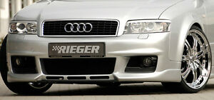 Audi A4 B6 2002 2005 Rieger Oem Front Bumper In Primer Abs Plastic Brand New