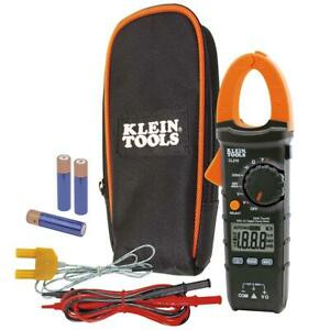 Auto ranging Digital Clamp Meter 400 Amp Measures Ac dc Volt Electrical Tester