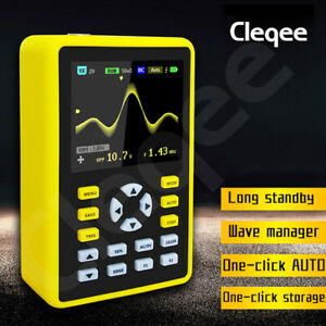 5012h Handheld Digital Oscilloscope Ips Lcd Display 100mhz Dso 2 4 500ms s