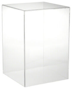 Plymor Clear Acrylic Display Case With No Base 10 W X 10 D X 15 H