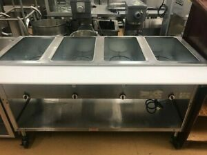 4 well Steam Table W New Cutting Board