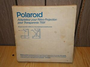 Vintage Polaroid Overhead Enlarger For T691 Transparencies 614085 New Nos