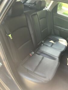 Mazda 3 Rear Bench Seat Black Leather Complete