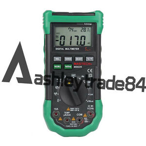 Ms8229 Mastech Digital Multimeter Light Sound Level Temperature Humidity Meter