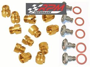 Holley Carburetor Main Jets Kit 50 109 Any Size 20 Pack 5 Power Valves
