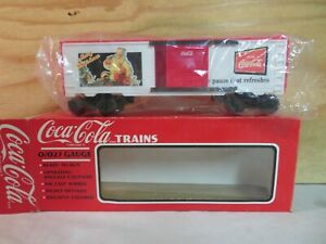 K-LINE TRAIN 6447 COKE COCA COLA CHRISTMAS HISTORICAL RAILROAD FREIGHT BOX CAR