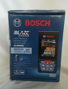 Bosch Outdoor Laser Measure 400 Ft Glm400c Bluetooth Camera Digital Viewfinder