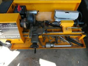 Emco Compact 5 Lathe It Was Used 1982 84 By My Father In Law Not Used run Fine