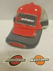 Manitowoc Hat rare And Sticker For Crane Oilfield Mining Construction 2