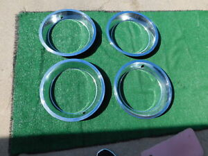 1967 Corvette Rally Wheel Trim Rings 67 1968