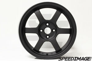Rota Grid Wheels 16x7 40 4x100 67 1 Hb Flat Black Civic Crx Integra