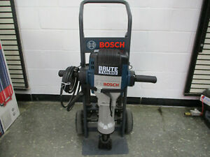 New Bosch Brute Turbo Bh2770vcd Electric Jackhammer With Cart 2 Point 2 Chisel