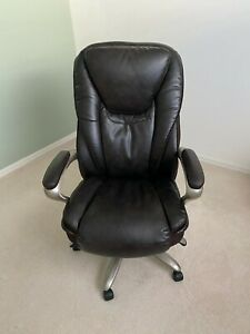 Serta Executive Big Tall Chair Brown Local Pickup Only