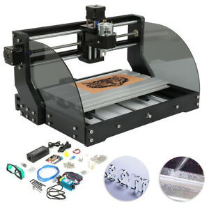Mini Diy 3 Axis Cnc Router Kit 3018 Laser Engraver Carver Machine Grbl Control