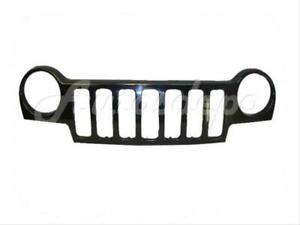 For 2002 2004 Jeep Liberty Grille Material Black Fits Jeep Liberty