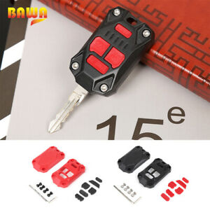 Car Key Fob Case Remote Key Shell Cover Protector For Jeep Wrangler Jk 2007 2017