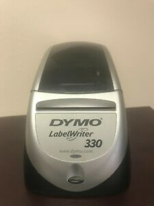 Dymo Labelwriter 330 Label Writer Printer With Adapter And Usb Cables