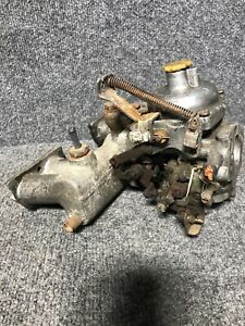 Mg Zenith Stromberg Carburetor Cd With Intake