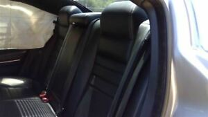 2014 14 Dodge Charger Rear Seat Black Leather 63724