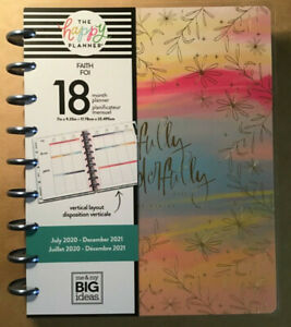 New 2020 2021 Me My Big Ideas The Happy Planner Deluxe faith Happy Kind