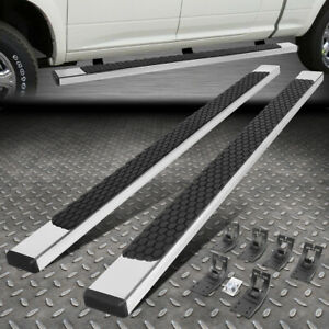 For 09 20 Dodge Ram Extended quad Cab 5 Flat Ss Side Step Bar Running Boards