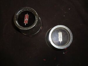 1966 1972 Oldsmobile 442 Cutlass F85 Ssi Ss I Rally Wheel Center Caps W Ridges