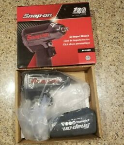 New Snap On 100th Year Edition 3 8 Drive Air Impact Wrench Mg325xce