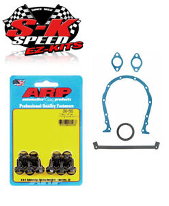 Arp Fel Pro Timing Chain Cover Gasket Bolt Install Kit Big Block Chevy Mark Iv