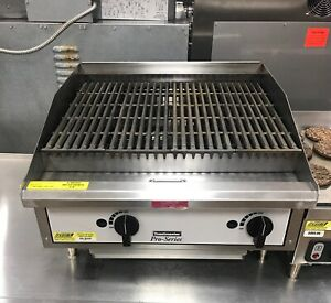 Toastmaster 24 Commercial Char rock Charbroiler