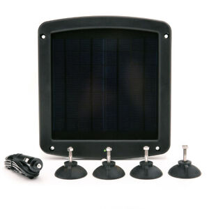 Battery Tender12v 5w Solar Battery Charger And Maintainer With Windshield Mount