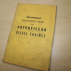 Caterpillar Diesel Engine Service Manual Repair Shop Tractor Crawler Book Guide